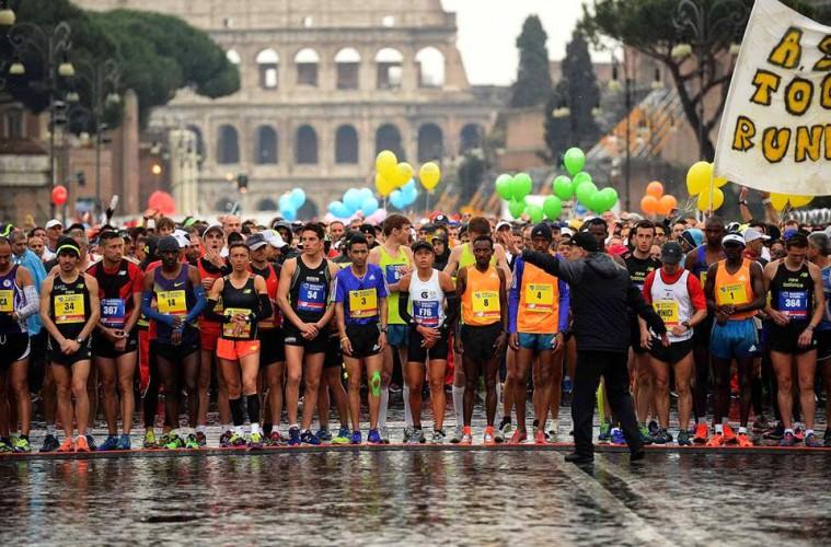maratona-di-roma-largada