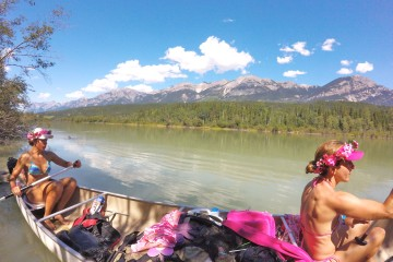canoe columbia river