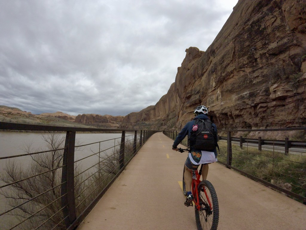 Moab bridge