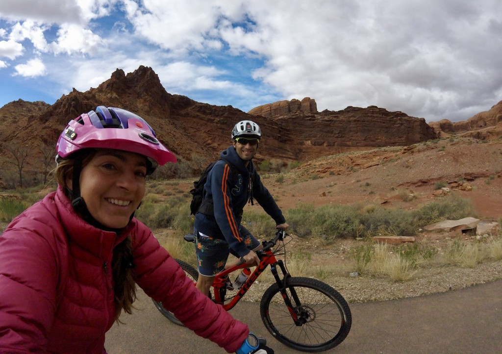 riding in Moab