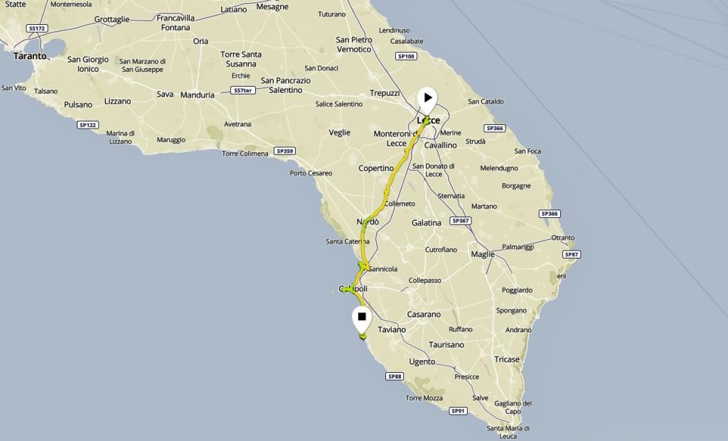 Lecce - Gallipoli