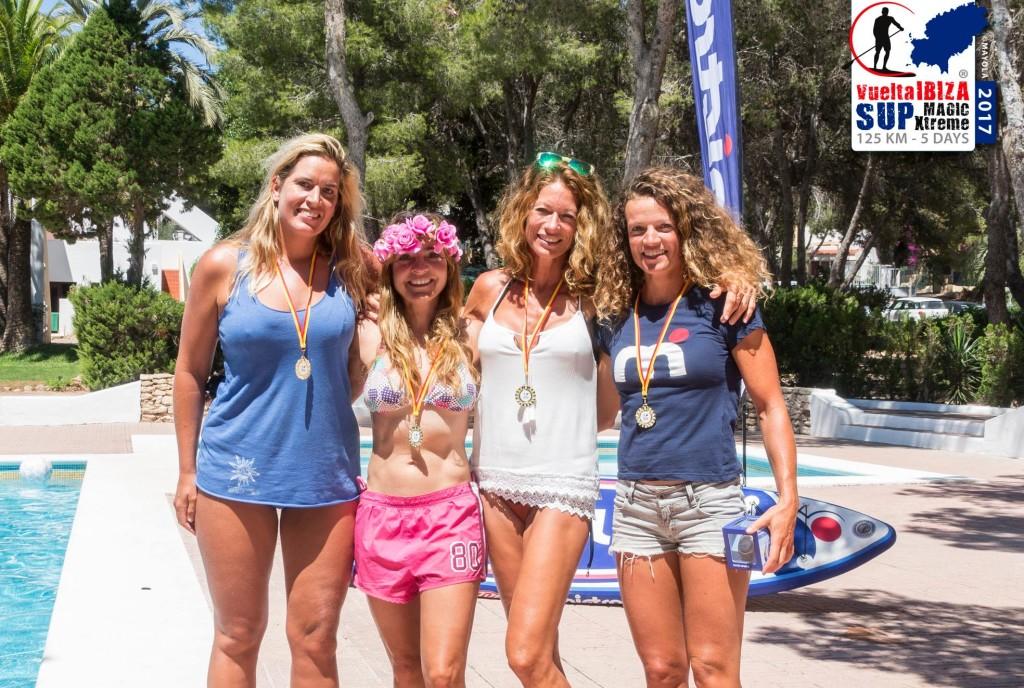 female competitors vuelta ibiza